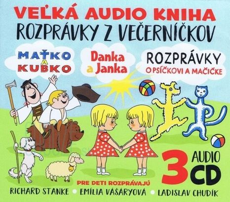 CD: Rozprávky z večerníčkov 3CD
