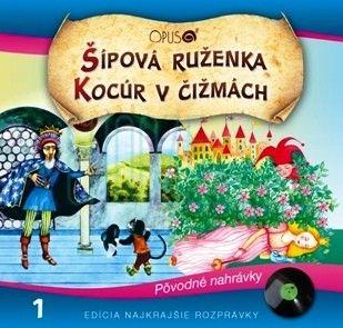 CD - Šípková Ruženka + Kocúr v čižmách