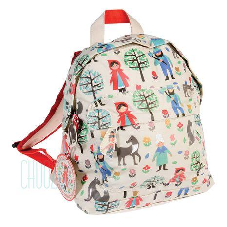 Detský batoh Rex London - Červená Čiapočka