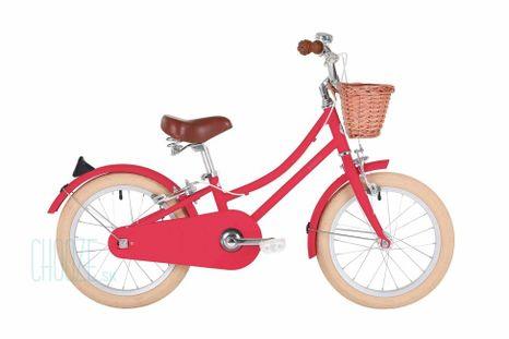 """Detský bicykel Bobbin Gingersnap 16"""" červený"""