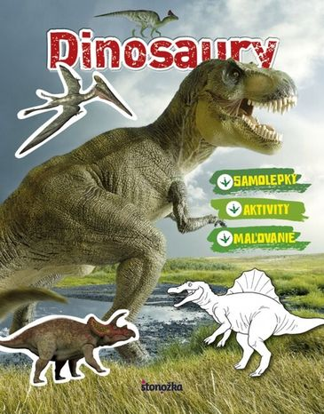 Dinosaury: maľovanie, nalepovanie a aktivity