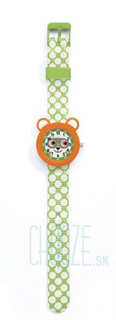 Djeco Detské hodinky: Medvedík čistotný
