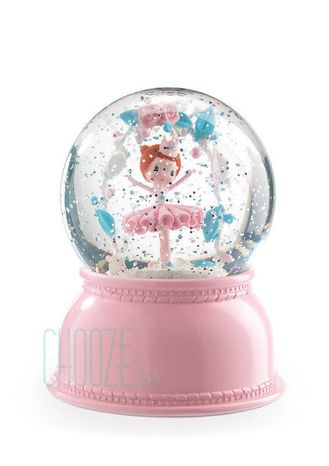 Djeco Detské nočné svetlo a Snežítko - Baletka