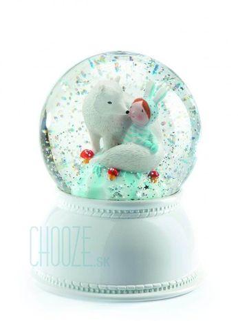 Djeco Detské nočné svetlo a Snežítko - Lila a Pupi