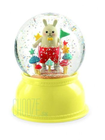 Djeco Detské nočné svetlo a Snežítko - Zajac