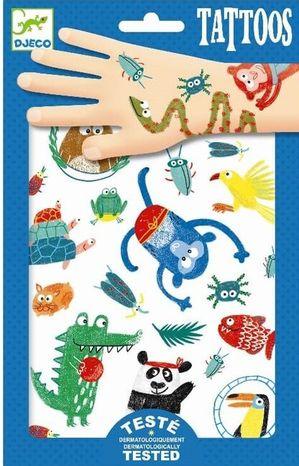 Djeco Dočasné tetovačky: Zvieratká