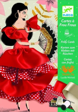 Djeco Karty na prišívanie: Flamenco