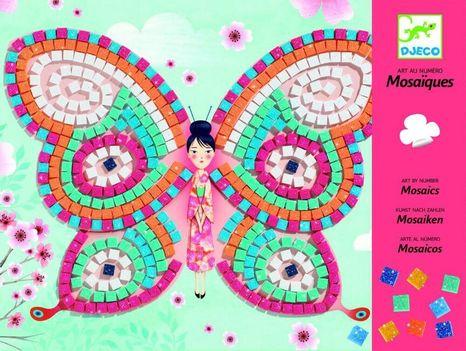 Djeco Penová mozaika: Motýle