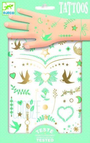 Djeco Dočasné tetovačky: Liline šperky