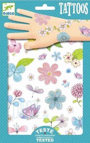 Djeco Dočasné tetovačky: Lúčne kvety