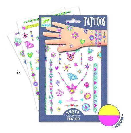 Djeco Dočasné tetovačky: Šperky Jenni