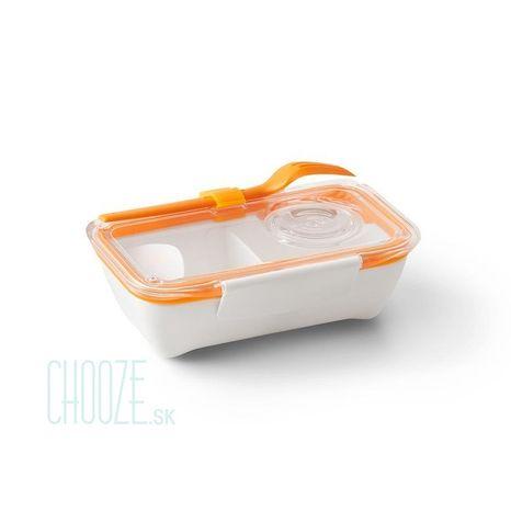 Black-Blum Obedár Bento Box White - Orange