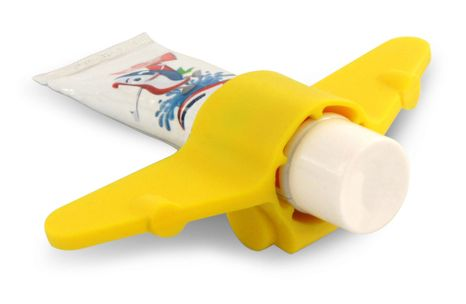 Držiak na zubnú pastu Plane - Yellow