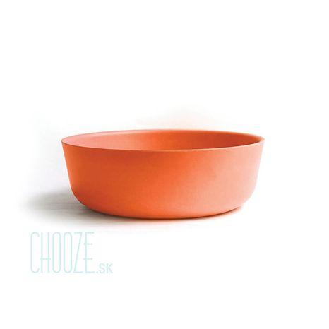 Detská bambusová miska Ekobo oranžová