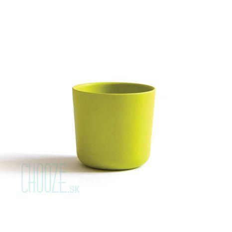 Detský bambusový pohárik Ekobo limetkový