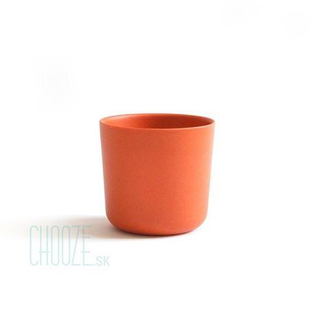 Detský bambusový pohárik Ekobo oranžový