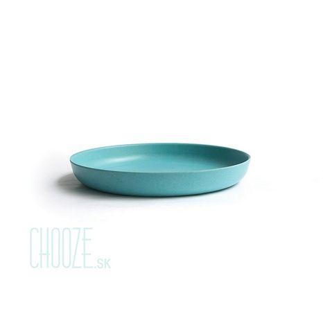 Detský bambusový tanierik Ekobo tyrkysový