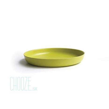 Detský bambusový tanierik Ekobo limetkový