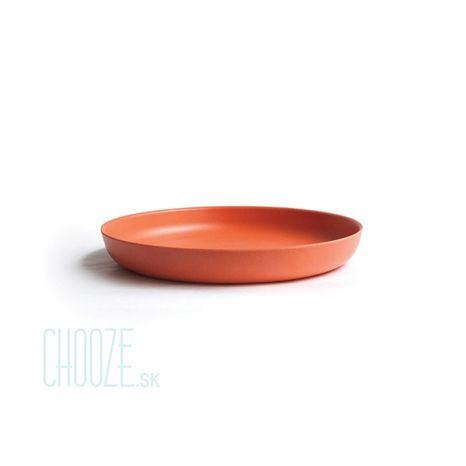 Detský bambusový tanierik Ekobo oranžový
