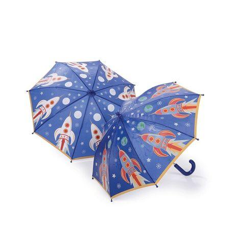 Detský dáždnik meniaci farbu Floss & Rock - Rocket