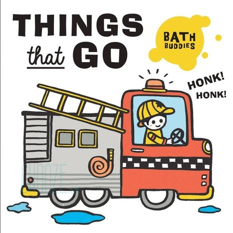 Bath Buddies: Things That Go