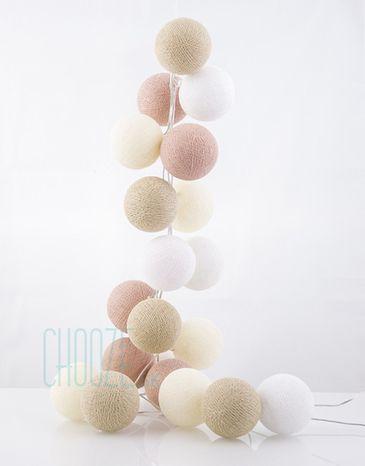 good moods LED Svietiace dekoračné gule 20ks: V oblakoch
