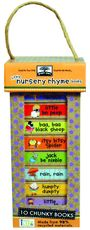 Green Start Book Towers: Little Nursery Rhyme Books