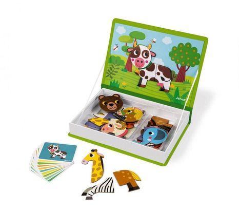 Janod Magnetická kniha Zvieratá