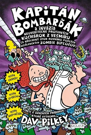 Kapitán Bombarďák 3: Invázia neuveriteľne protivných kuchárok z vesmíru