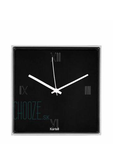 Nástenné hodiny Tic&Tac - 09 glossy black