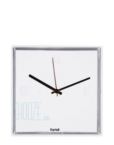 Nástenné hodiny Tic&Tac - 03 glossy white