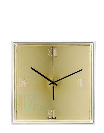 Nástenné hodiny Tic&Tac - GG gold