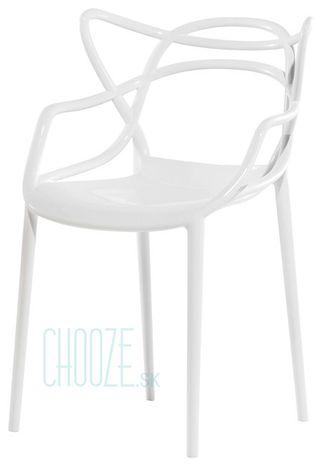Stolička Masters - 03 white