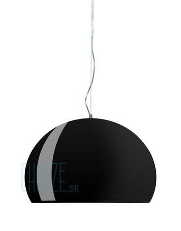 Závesná lampa FLY - 09 glossy black