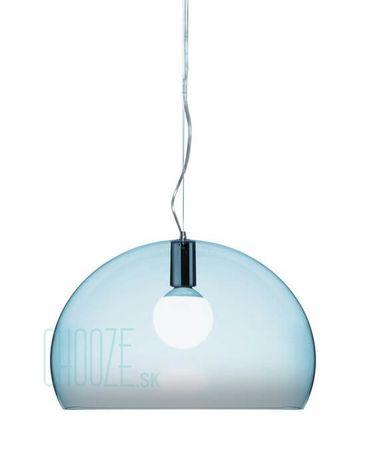 Závesná lampa FLY - K2 transparent cloud blue