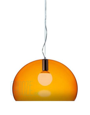 Závesná lampa FLY - K4 transparent orange