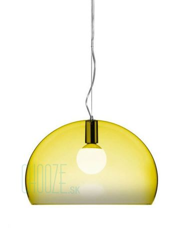 Závesná lampa FLY - K6 transparent yellow