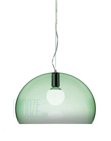 Závesná lampa FLY - K9 transparent sage green
