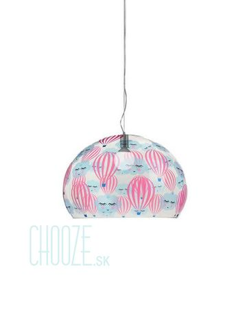 Závesná lampa FLY Kids Small - JJ transparent hot air balloon