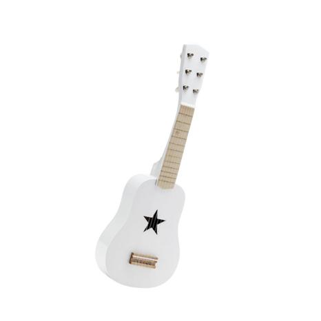 Kids Concept Gitara drevená: Biela