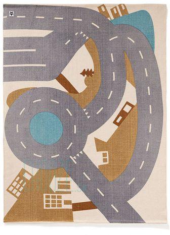 Kids Concept Koberec cesta Aiden 130x170 cm