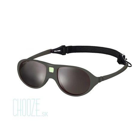 KiETLA slnečné okuliare 2-4 roky: tmavá sivá