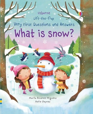 Lift-The-Flap Very First Q&A: What is Snow?