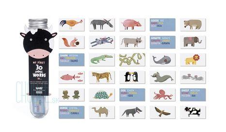 Londji Poznávacia Hra My First 30 Animal Words