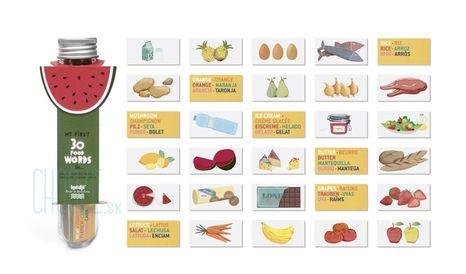 Londji Poznávacia Hra My First 30 Food Words
