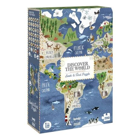 Londji Puzzle Discover The World
