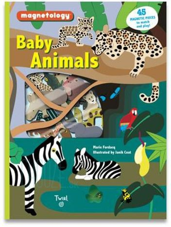 Magnetická kniha Magnetology: Baby Animals