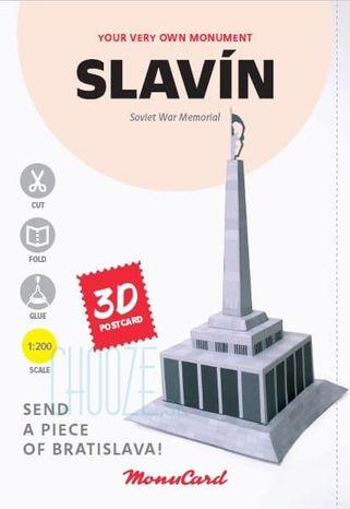 MonuCard - Slavín - 3D pohľadnica
