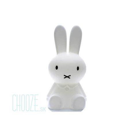 Mr Maria Detská LED lampa Miffy First Night Lamp - biely zajačik
