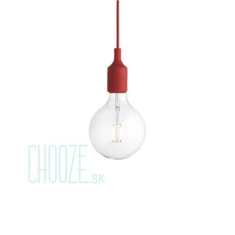 E27 red - Závesná lampa červená
